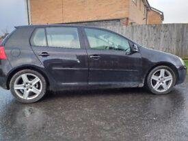 VOLKSWAGEN GOLF 2.0 GT TDI 140 ALLOY WHEELS PART SERVICE HISTORY DRIVES GREAT