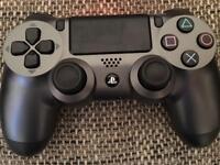 Grey PlayStation 4 controller