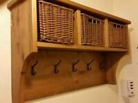 Hallway coat rack