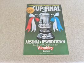 1978 F.A. Cup Final Programme.