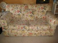 """Multiyork 'Natalie"""" 2-seater sofa. good condition ..pet free smoke free home removable covers."""