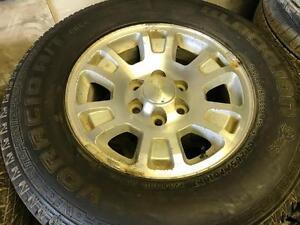 LT265/7017 BLACKLION Tires+Rims 75%