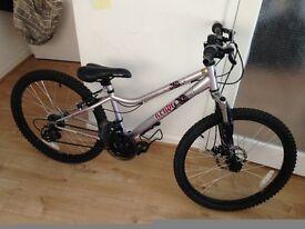 """Mountain Bike 24"""" 13"""" APOLLO KRYPT GIRLS HARDTAIL BIKE BICYCLE"""