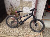 kids mountain bike for sale, suit 6-9yr old.