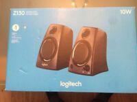 New pc speakers Logitech Z130 Speakers