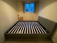 King size ottoman bed side open