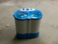 Portable/Outdoor Washing Machine with spinner (Streetwize Twin Tub Portable Washer)