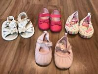 Girls Shoes 6-9 Months