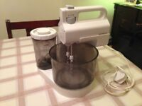 Kenwood Mixer and Blender.