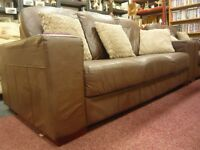 Chocolate Brown, Luxury Leather 3 + 2 Seater sofa set