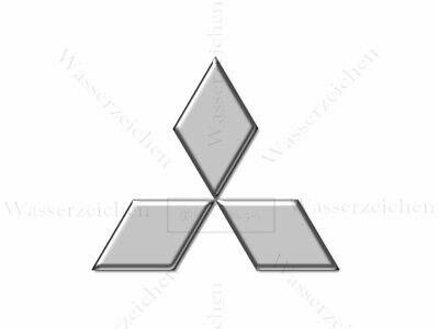 Mitsubishi-Logo-10cm-Auto-AUFKLEBER-bunt-WASCHANLAGENFEST-kratzfest-KFZ-AD299 (Mitsubishi Auto Aufkleber)
