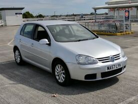 VW Golf MK5 Match 1.9 TDI Manual 2007 5dr, Low mileage, New MOT, FSH. Excellent condition