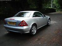 Mercedes SLK Kompressor. Rare AMG 6 speed manual.....