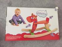Wooden horse rocker