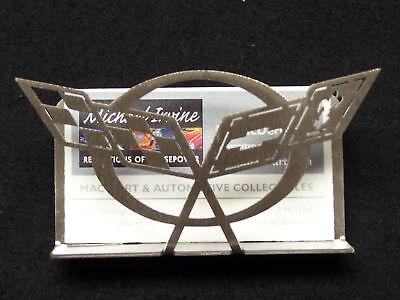 CHEVROLET CORVETTE C5 BUSINESS CARD HOLDER 97 98 99 2000 2001 2002 2003 2004 Z06