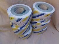 50 metre roll of 100 grade blueline sandpaper.