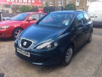 Seat Altea 1.6 Reference 5dr 6 MONTHS FREE WARRANTY