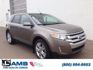 2014 Ford Edge Limited 301A AWD MyFord Touch navigation Moonroof