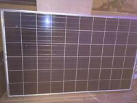 Solar panels 250W plus battery chargers