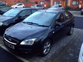 Ford Focus Hatchback MK2 1.6 Ghia 5dr - £1900 ONO - great condition, BLACK, 10 month MOT