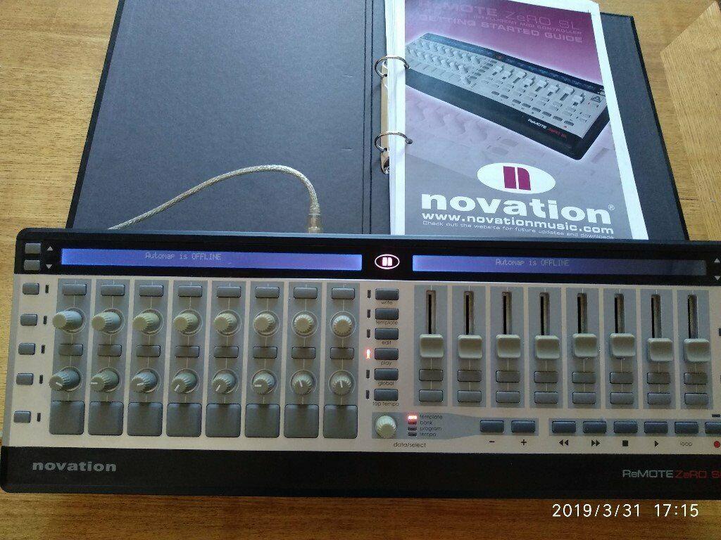 Novation Remote Zero SL MIDI USB Controller   in Kingston, London   Gumtree