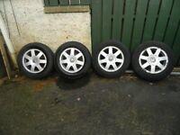 4 voltswagon wheels £70 ONO