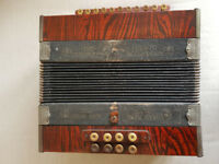 Vintage Ludwig Pine Tree Accordion - The Chromatic - Hand Tuned Ajax Reeds