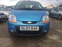 Chevrolet matiz long mot drives superb 09 plate 895