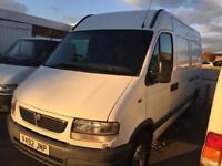 VAUXHALL MAVANO 3500 D MWB cheep van only £1295 no vat !!!