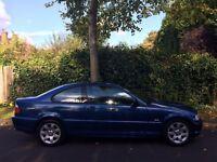 Bmw 318ci 2dr coupe 2002 52 reg