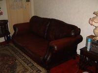 2 seater leathe sofa