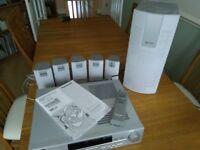 Panasonic CD/DVD/radio surround sound system SC-HT70