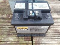BATTERY HALFORDS 440amps