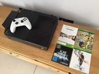XBox One + White Controller + 3 Games
