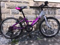"Dawes Venus Girls Bike 20"" for 7-10 year old"