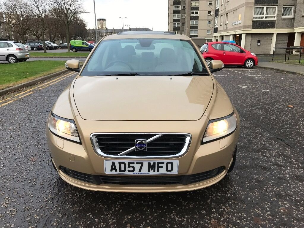 2008*DIESEL*VOLVO S40-1.6 TDi WITH ONLY 70K GENUINE MILEAGE-FULL SERVICE HISTORY-SPOT ON EXAMPLE