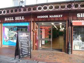 RETAIL UNIT / SHOP TO RENT INSIDE BALL HILL INDOOR MARKET COVENTRY TO LET