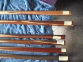 TWO PIECE SNOOKER / POOL CUES