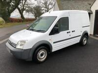 08/08 FORD CONNECT T230L H-ROOF, ONLY 60K & 1 OWNER, NO VAT!!!