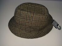 Pure New Wool Classic Country Trilby Hat. Unused with tags