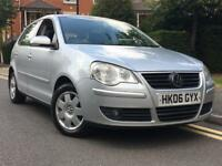 2006/06 REG VOLKSWAGEN POLO 1.4 S ** 1 FORMER KEEPER + FULL SERVICE HISTORY** IDEAL 1ST CAR** £1395