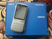 Nokia c3-01 touch and type unlocked mobile phone 5mp wifi