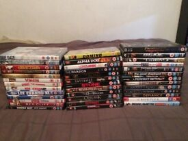 LOT OF 85 DVD'S