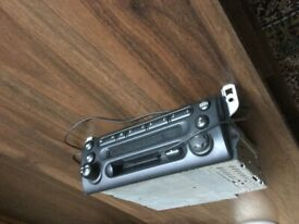 MINI/BMW Original CD player/radio unit