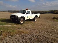Mitsubishi L200 4WD Single Cab in very used but very functional condition. MOT till Sep 2017