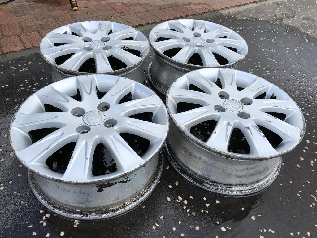 Honda Jazz Alloy Wheels 15 Inch X 4 In Lenzie Glasgow Gumtree