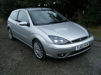 ST170 ford focus 3 door MOT till 4th april 2017 silver 2003 NEW CLUTCH