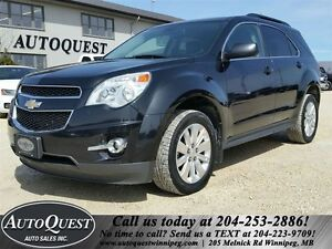 2011 Chevrolet Equinox LT - HEATED LEATHER, REMOTE START, AWD!