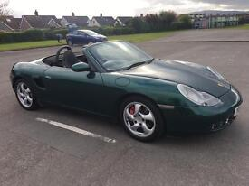 2001 Porsche Boxster S 3.2s moted full year mint