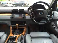 BMW X5**AUTOMATIC**DIESEL**2 OWNERS**3 KEYS**BLUETOOTH**FSH**HPI CLEAR**